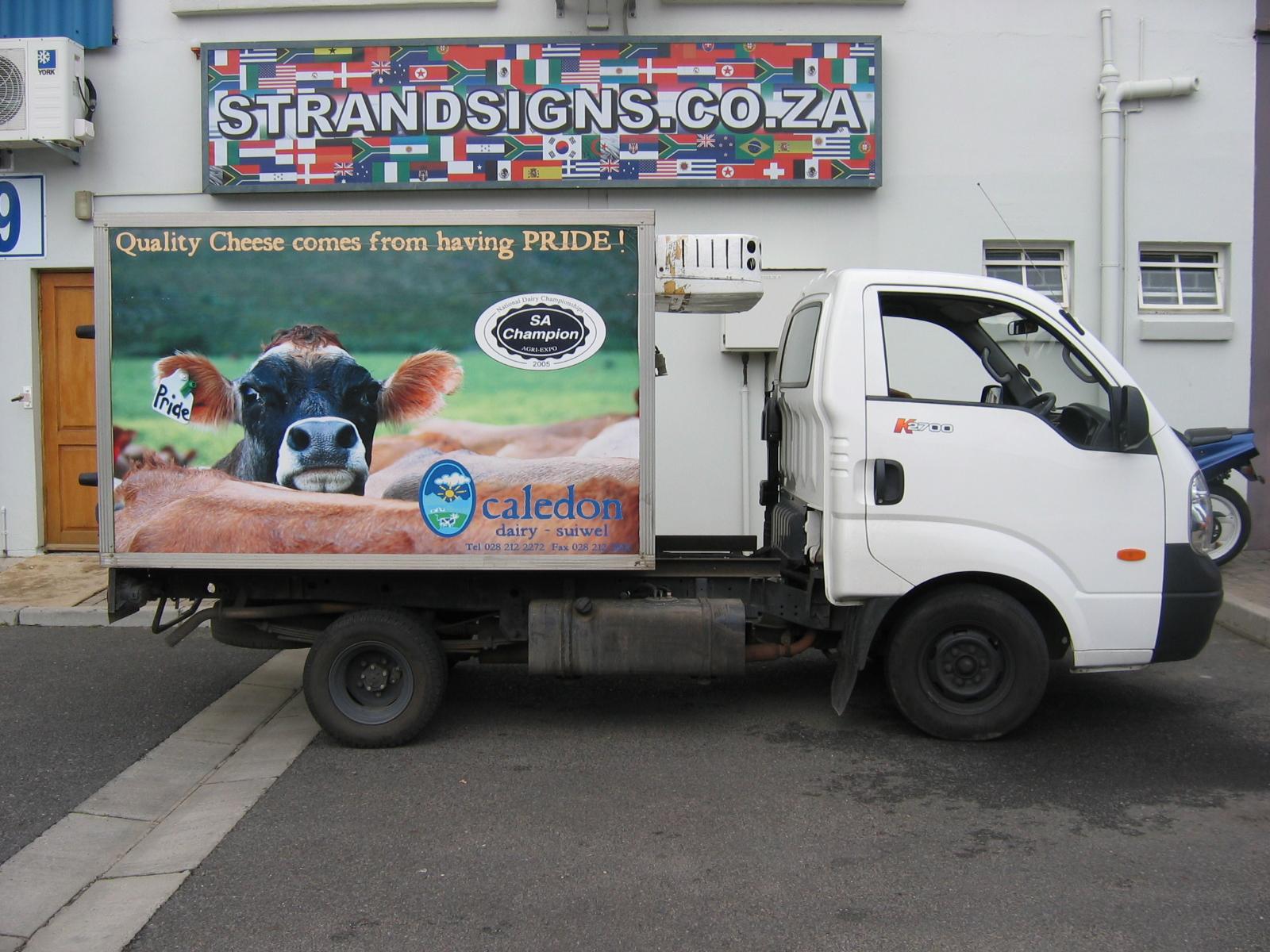 Vehicle Branding & Wraps | Strand Signs